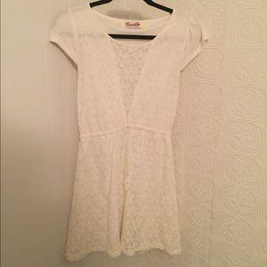 Francesca's white sundress